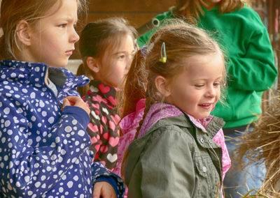 Landkinder auf dem Tiggeshof in Ainkhausen
