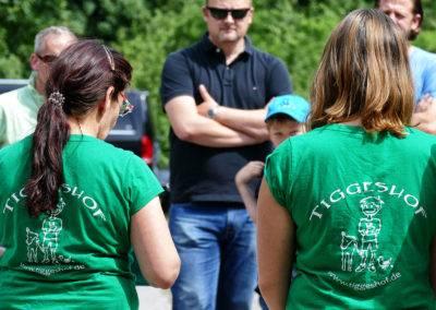 Immer an der Seite unserer Gäste und Besucher: das Tiggeshof-Team