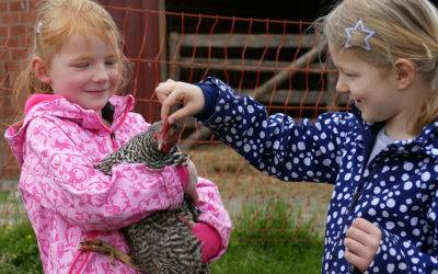 Bundestagung Bauernhof-Kindergarten:  Kindergarten auf dem Bauernhof der BAGLOB