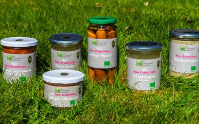 Neu im Angebot: Bruderhahn-Produkte